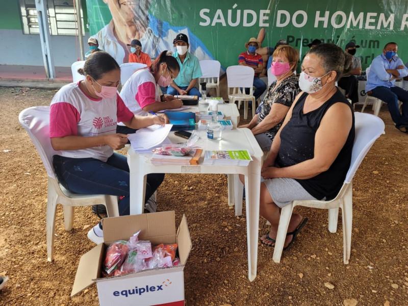 Prefeitura de São Valério em Parceria com o Sistema FAET/SENAR Realizam Programação do Outubro Rosa na Zona Rural.