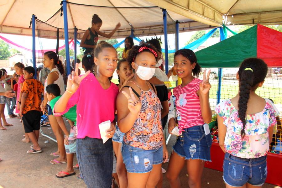 Secretaria da Assistência Social Realiza Manhã de Diversão no CRAS para as Crianças do Nosso Município!